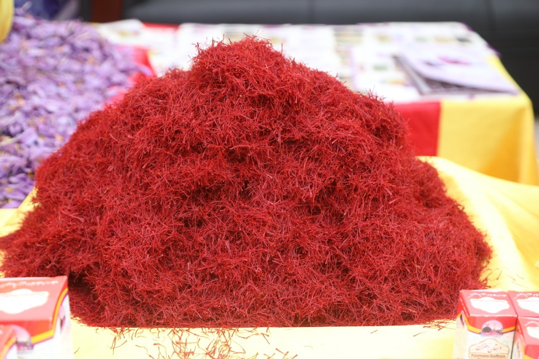 Pridful production of Afghanistan: high quality saffron from Herat.