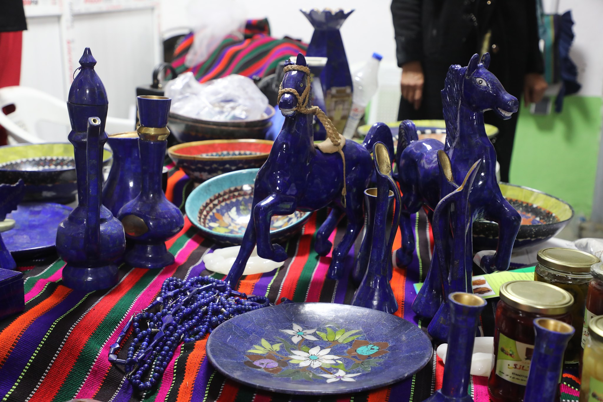 Women's handicrafts from jewelry to various national clothes, We are your host at  Badam_ Bagh exhibition till the end of Thursday, the fifth of Hamal.