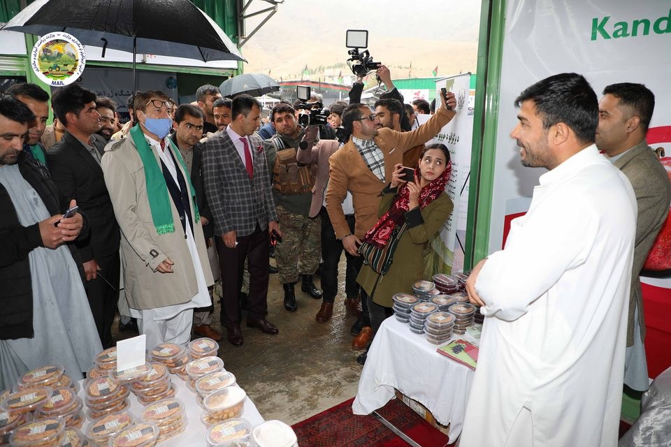 The first day of Agricutural Products' exhibition in Badam Bagh, This exhibition lasts  until Thursday the end of fifth of Hamal.