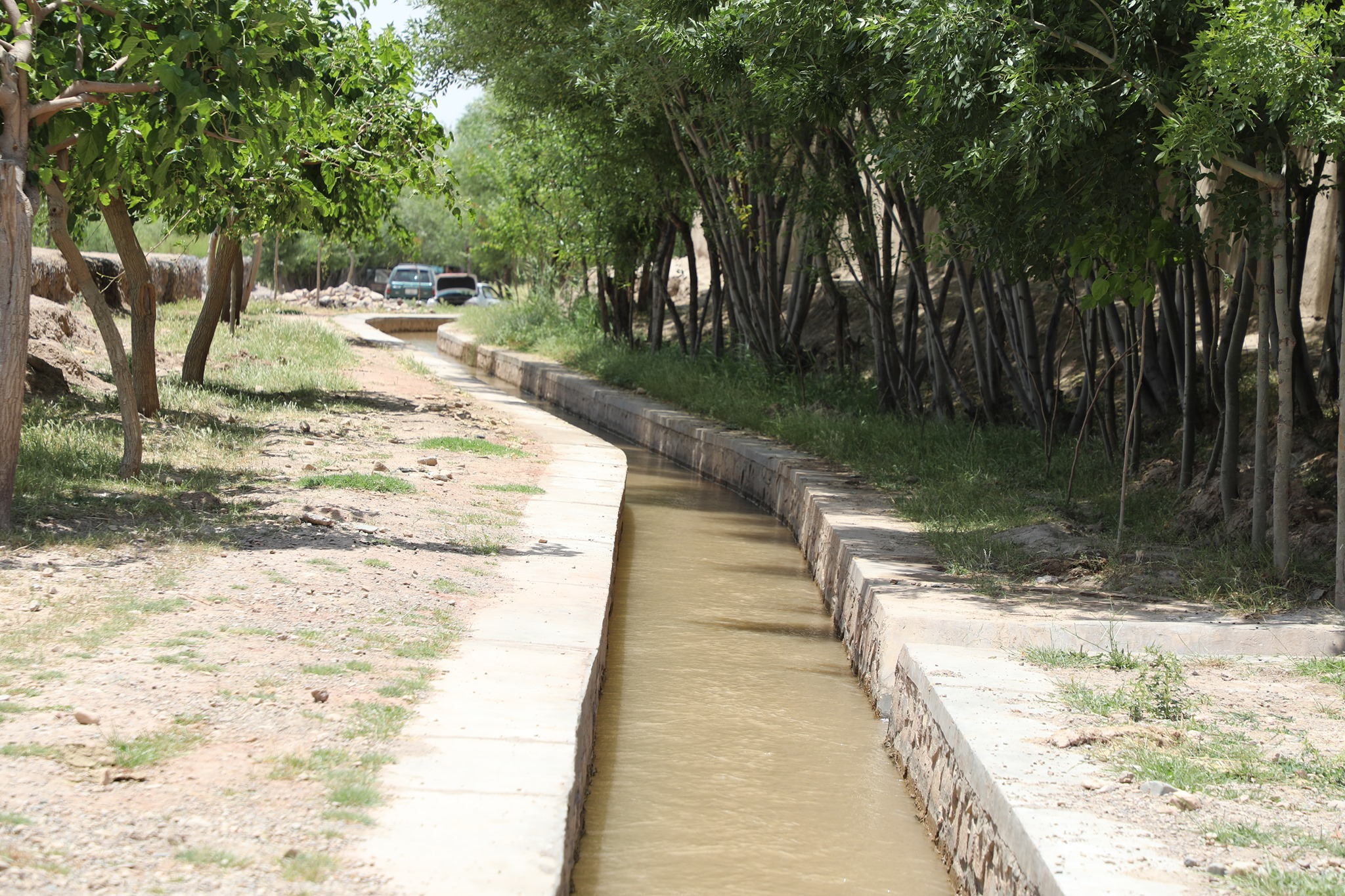 Irrigation networks built in Herat, These networks have been built by Second National Priority Program 2 (SNapp2) in different districts of the province.